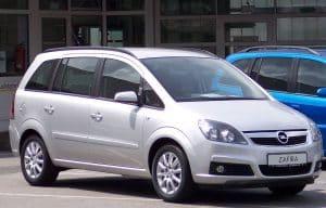 Le voyant en forme de clé à molette est allumé sur Opel Zafira, que faire?